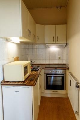 Küche im Apartement