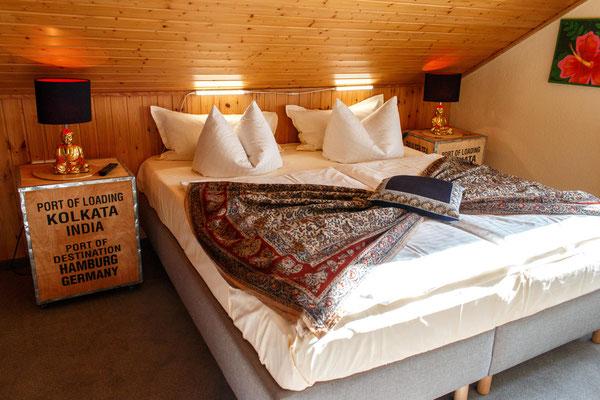 Schlafzimmer Apartement 6