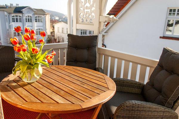 Balkon Apartement Nr.6