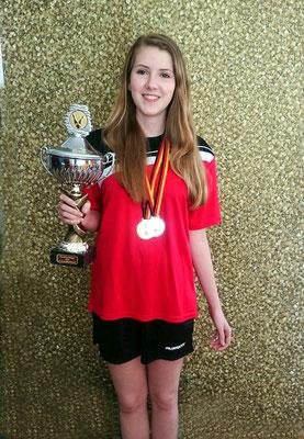 Lea Stagge - deutsche Meisterin 2015