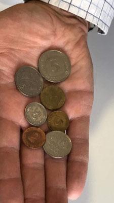 DM-Geldstücke
