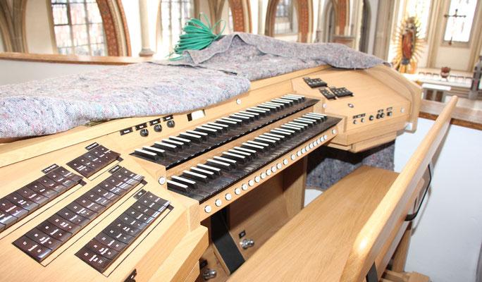 Das Orgelpult
