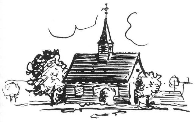 erste Kirche in Olfen um 850