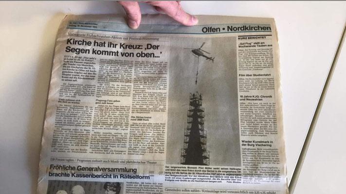 Die Ruhr Nachrichten von 1982
