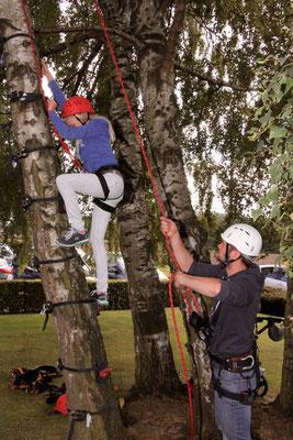 Klettern für die Jugend