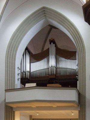 Die Orgelempore