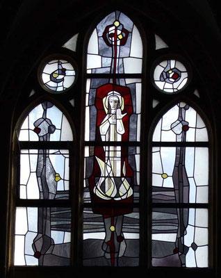 Kirchenfenstr in der Josephskapelle