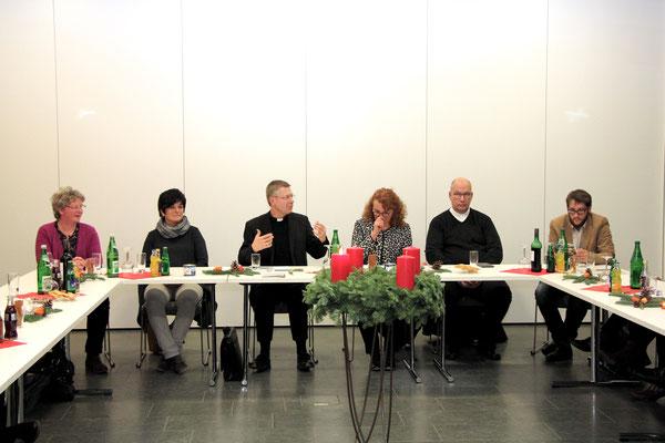 Gespräch im Haus Katharina mit dem Kirchenvorstand und dem Pfarreirat