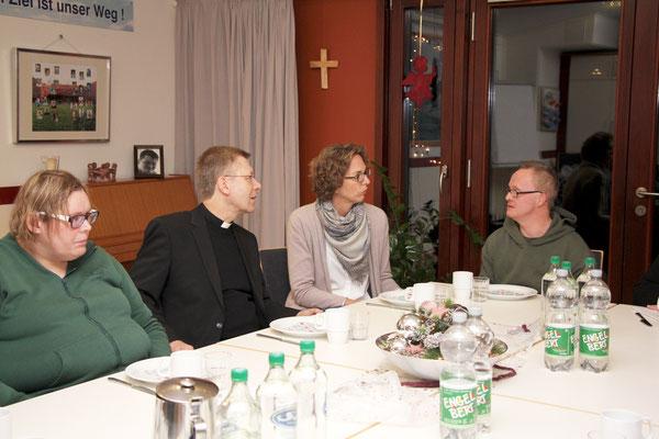 Besuch im Caritas-Wohnheim Olfen