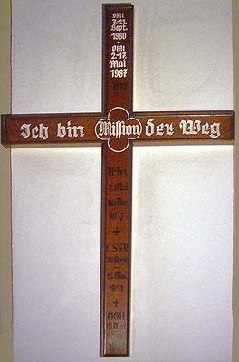 Pilger- und Missionskreuz