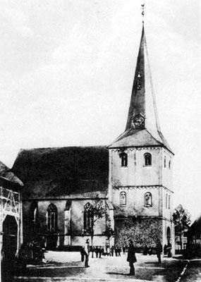 1940 - dritte Kirche in Olfen
