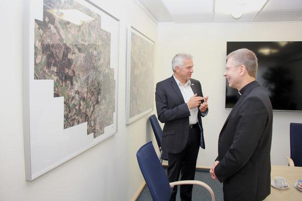 Gespräch mit Bürgermeister Wilhelm Sendermann