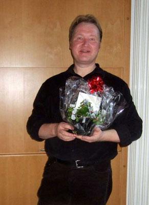 Chorleiter Klaus Nacke