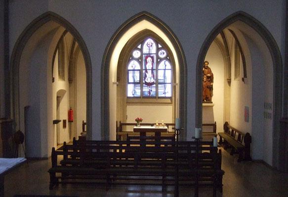 Josefs-Kapelle mit dem Hl. Josef