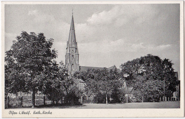 1955 - Ansichtskarte vom Kanal