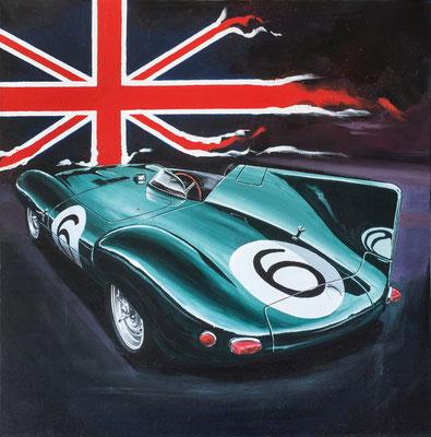 Jaguar LeMans   ©Markus Scholemann   hochwertiger Leinwanddruck