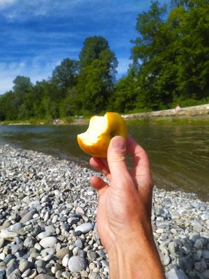 """""""Ein Apfel am Tag ..."""", 27.06.21"""