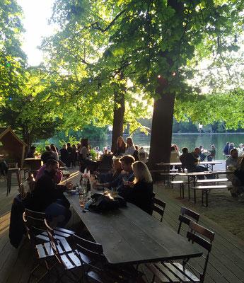 Seehaus am Kleinhesseloher See, 30. Mai'21