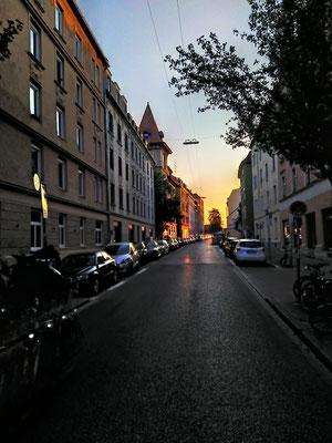 Heim-Bladen über die Ehrengutstr., 26.04.XX