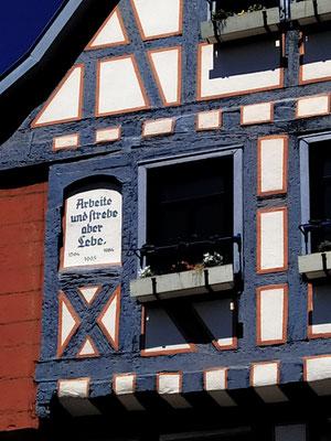 aus der Heimat: Untermarkt Gelnhausen