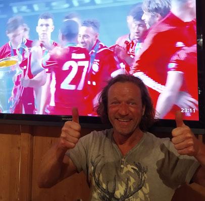 FC Bayern gewinnt die Champions League 1 : 0 gegen Paris, 23.08.XX