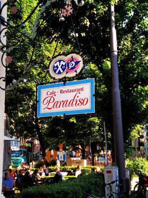 """... ins """"Paradiso"""" 😃"""