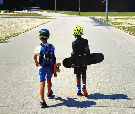 auf geht's! zum Skatepark an der Wiesn!