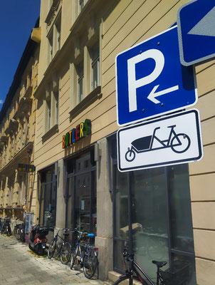 Neue Münchner Parkplätze 👍👍😉