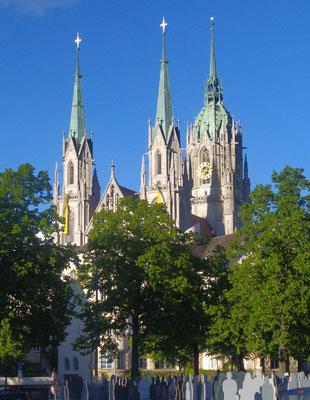 St. Paul Kirche, ein schöner Pfingstsonntag, 23. Mai '21