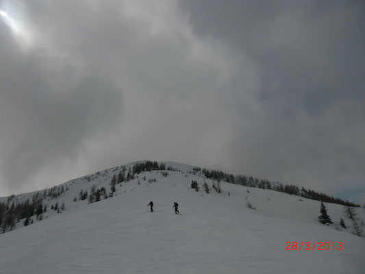 Auf dem Weg zum Monte Cocco (1.941m)
