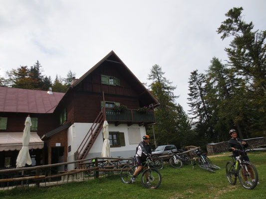 Die Grego-Hütte