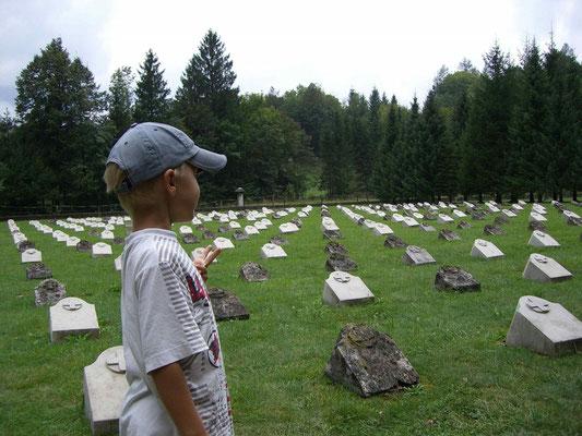 Österreichischer Soldatenfriedhof aus dem 1. Weltkrieg