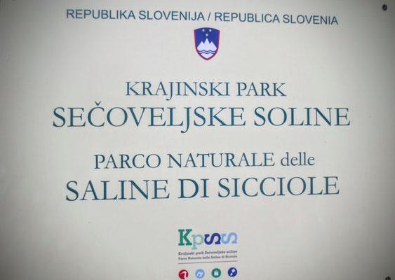 Die Salinen von Secovlje - Sicciole wurden 2001 von der slowenischen Regierung zum Naturpark erklärt