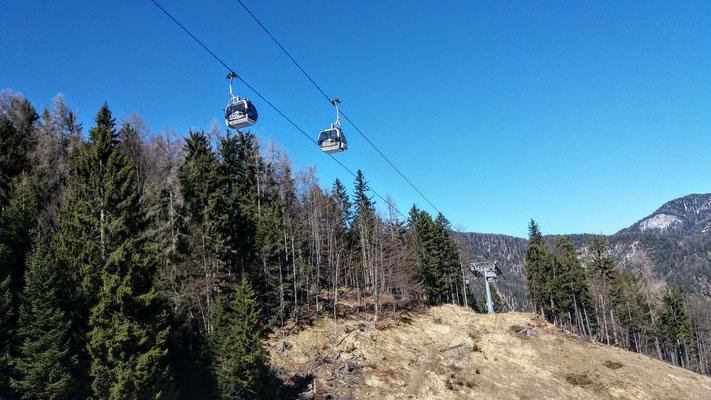 Die Gongelbahn auf den Luschariberg