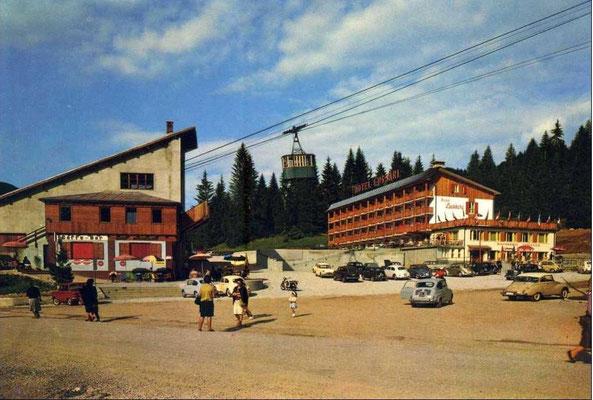 Die alte Lussari-Talstation in Valbruna