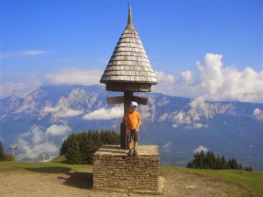 Am Kreuzungspunkt der drei Länder Österreich - Italien - Slowenien