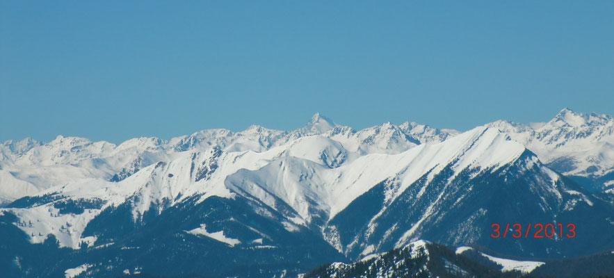 Schöner Blick zum Großglockner, dem höchsten Berg Österreichs