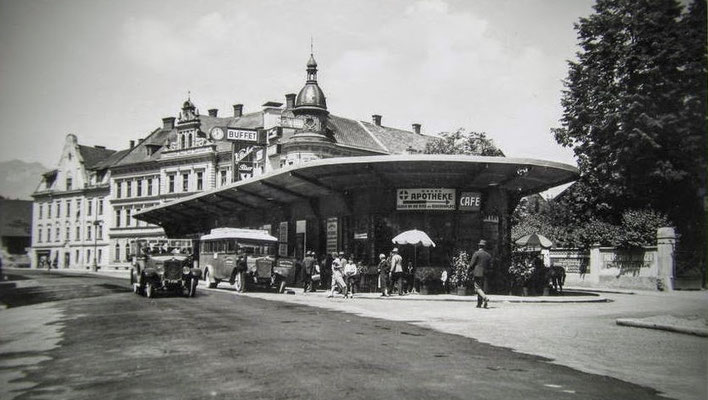 Historische Aufnahme des Hans-Gasserplatzes um 1930