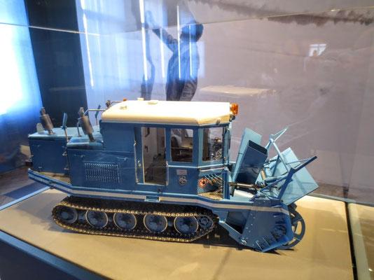 Modell der legendären Wallack-Rotations-Schneefräse