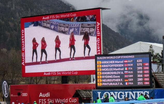 Marcel Hirscher holt bei diesem Rennen auch den Slalom-Weltcup-Gesamtsieg 2017