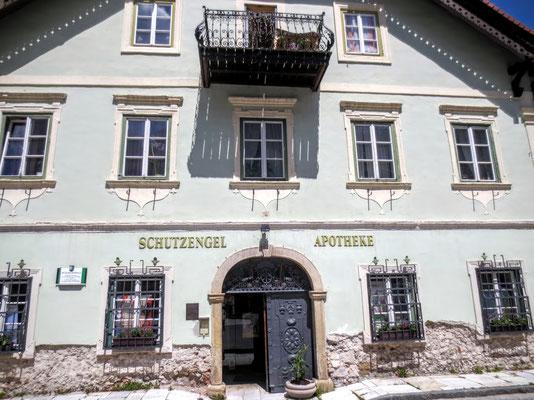 """Das """"Mühlbacherhaus"""" - von 1805 bis 1949  im Besitz der Gewerken-Familie Mühlbacher"""