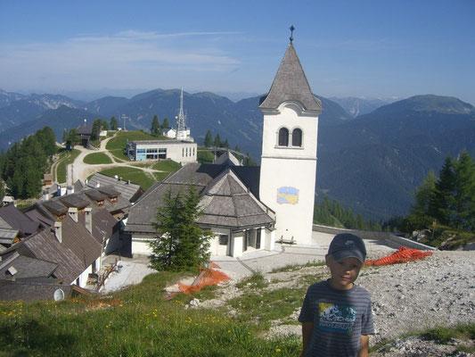 Die Wallfahrtskirche Maria Luschari
