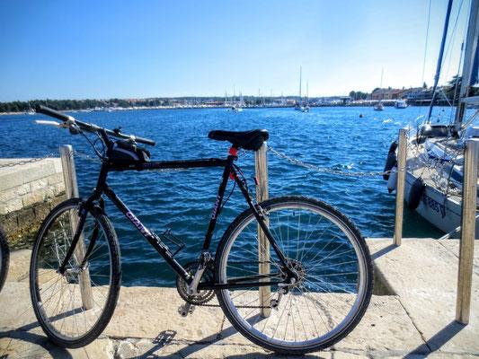 Mit dem Fahrrad am Meer - ein Traum !