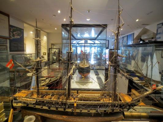 Im K.u.K. Marinemuseum Gallerion in Novigrad