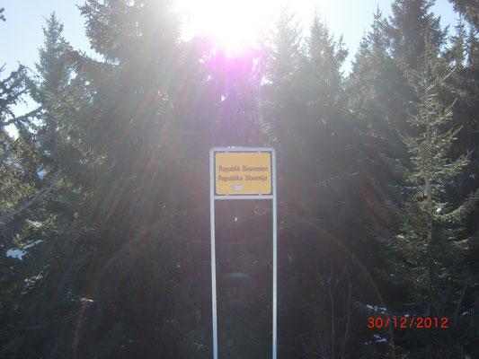 Staatsgrenze Österreich - Slowenien