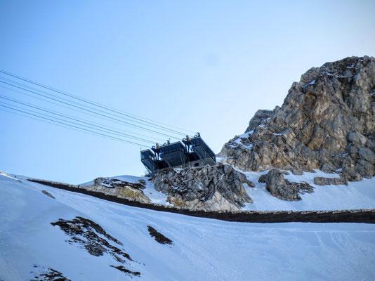 Die Bergstation der 2009 eröffneten Kanin-Prevala-Seilbahn