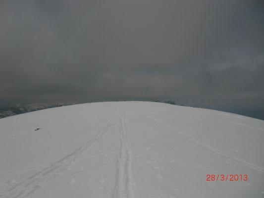 """Der """"Gipfel"""" des Schönwipfel 1.913m"""