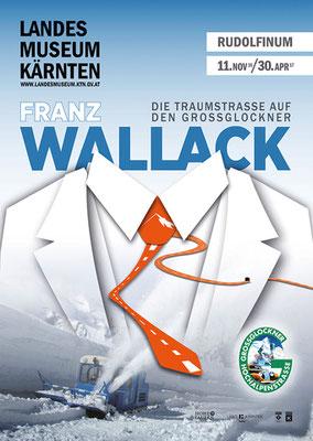"""Plakat zur Sonderausstellung """"Die Traumstraße auf den Großglockner"""""""