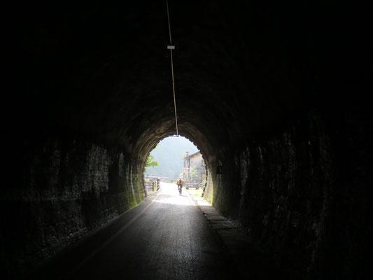 Tunnel Civlovia / Alpe Adria Radweg