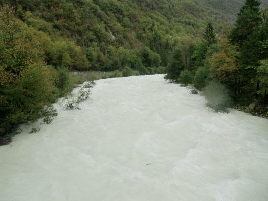 Die Hochwasserführende Soca